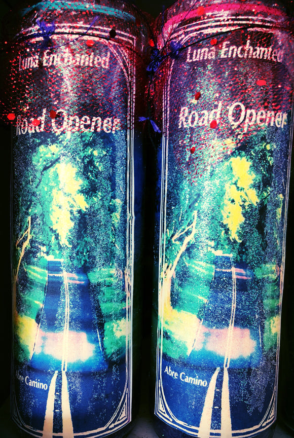 Road Opening Novena Spell Candle