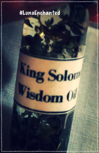 King Solomon Wisdom Oil