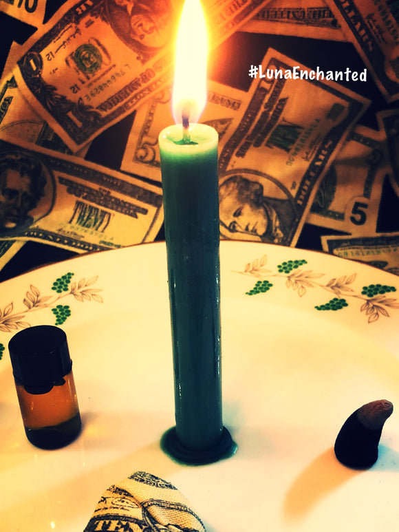 Money ($¢¢$$) Magickal Mojo Spell Kit