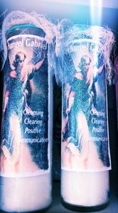 Archangel Gabriel Cleansing Clearing Positive Communication  Novena Candle