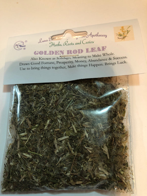 Golden Rod Leaf