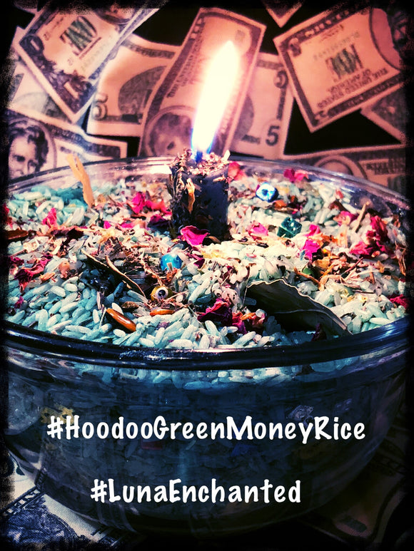 Hoodoo Green Money Rice