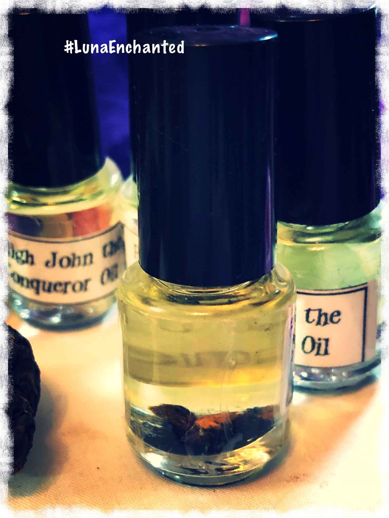 High John the Conqueror Oil – Luna Enchanted