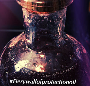 Fiery Wall of Protection Oil