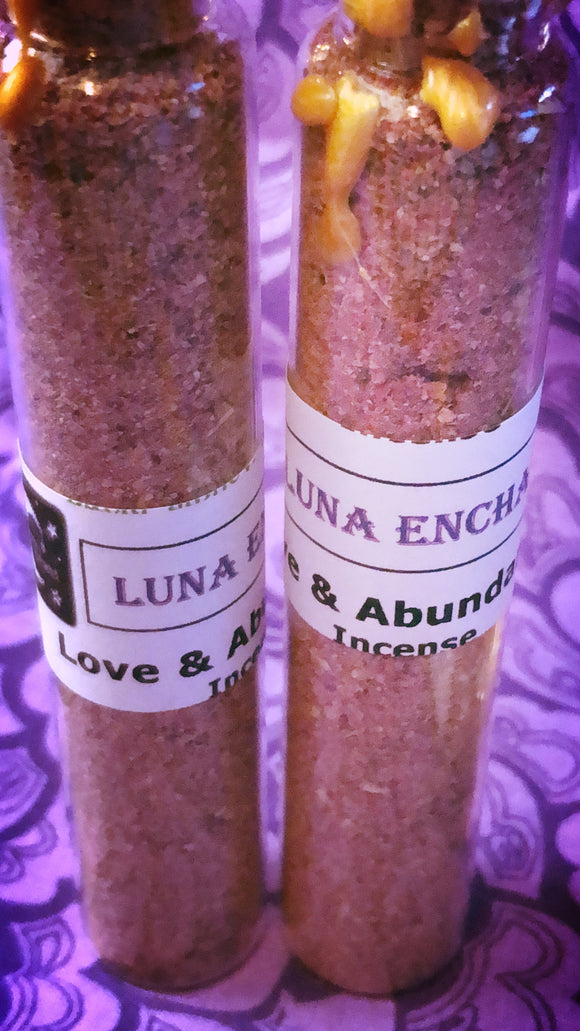 Love and Abundance Incense