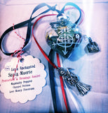 Santa Muerte Love, Prosperity &, Protection & Blessings Talisman