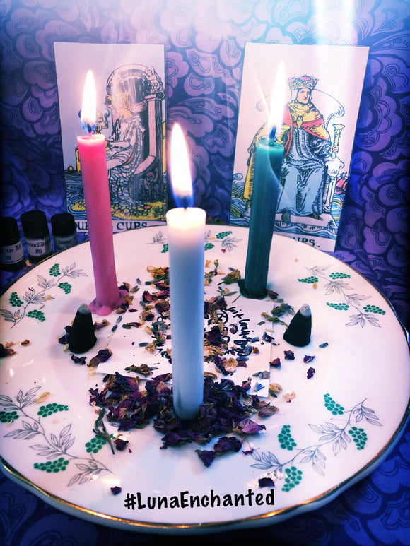 Tarot Love Spell Kit to Restore Shattered Relationships