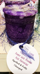 Power and Promise Votive Spell Candle