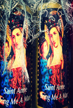 "Load image into Gallery viewer, Saint Anne ""Bring Me a Man"" Novena Spell Candle"