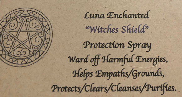 Witches Shield Protection Spray