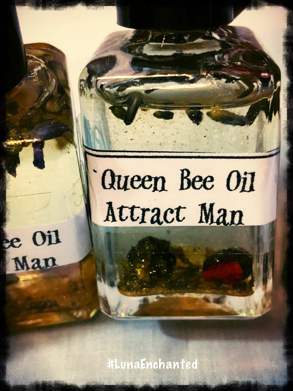 Queen Bee Oil Attract Man