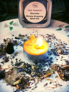 Success Money Drawing Simple Spell Kit