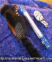 Smudging Feather Fan
