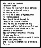 God Bless Psalm 23 Spiritual Oil