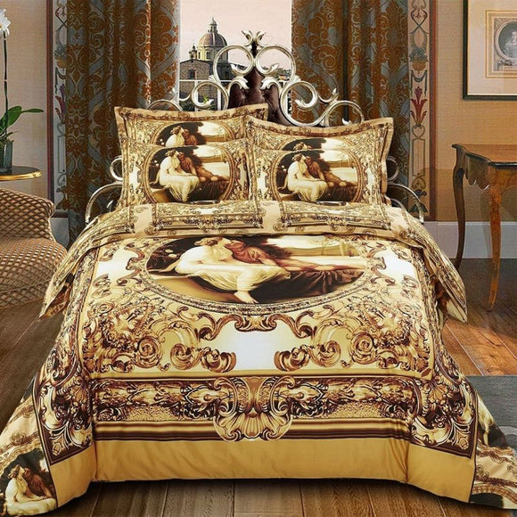 Amanti Queen/king Duvet Cover Set Luxury Bedding