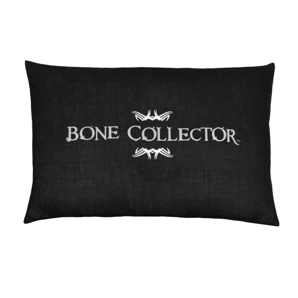 Bone Collector Black Oblong Lumbar Pillow