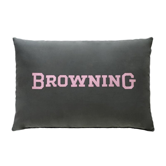 Browning Buckmark Plaid Oblong Lumbar Pillow