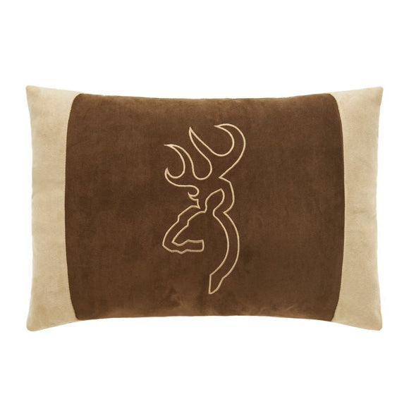 Browning Suede Oblong Pillow Brown/tan