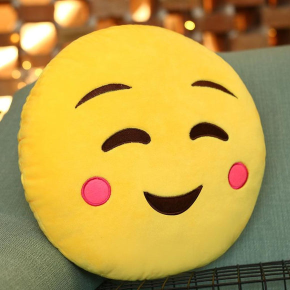 Cute Emoji Cushion Pillow For Sofa Car Chair / 12