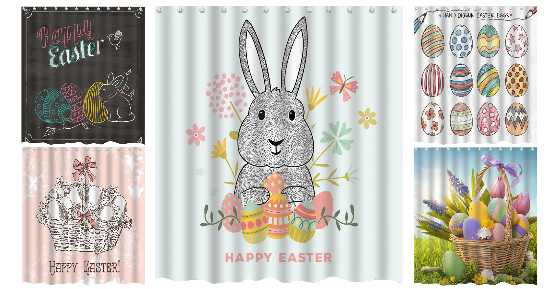 Easter Shower Curtain Collection
