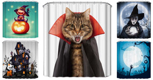 Halloween Shower Curtain Collection