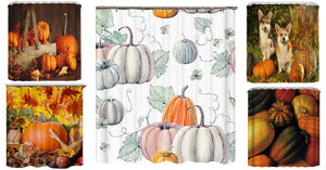 Thanksgiving Shower Curtain Collection