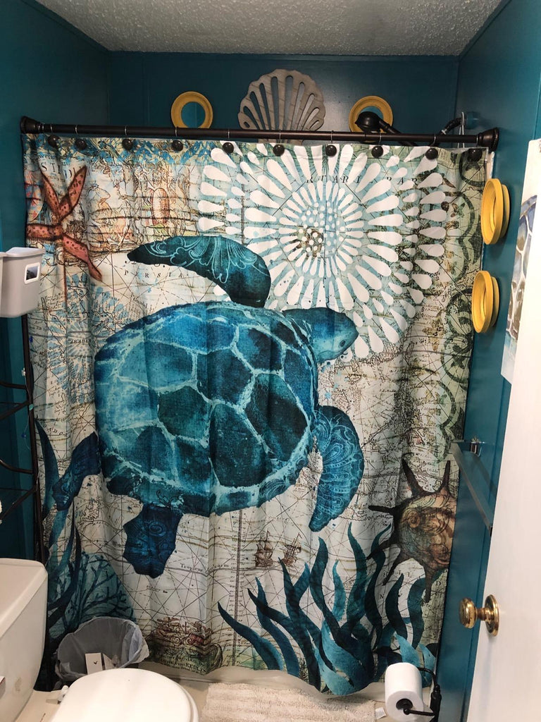 Best Picture Turtle Bathroom Decor