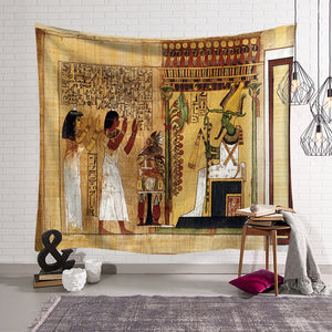 Ancient Imperial Power Pharaoh Egyptian Tapestry