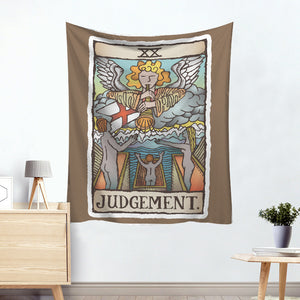 Angle Judgment Colorful Tarot Card Tapestry