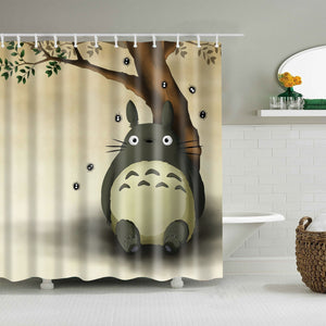 Anime My Neighbor Totoro Shower Curtain