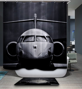 Awesome Retired Helicopter Shower Curtain