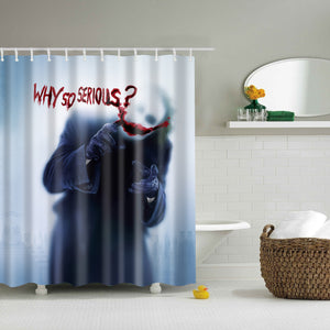 Batman The Dark Knight Clown Scary Shower Curtain | GoJeek