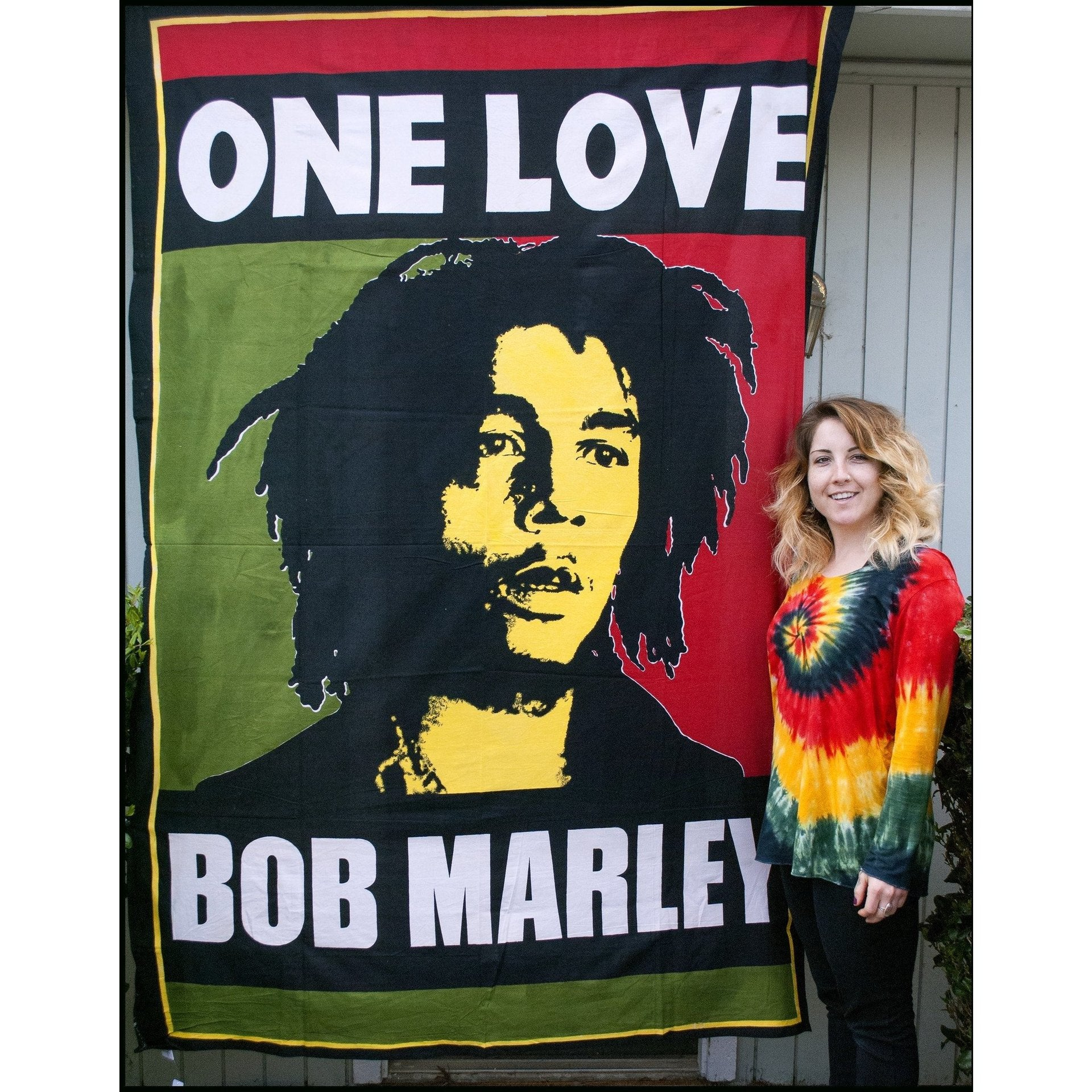 Bob Marley One Love Poster Tapestry