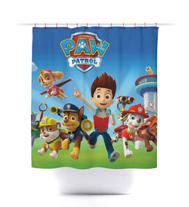 Cartoon Kids Paw Patrol Shower Curtain