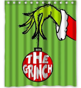 Christmas Dan Sproul The Grinch Shower Curtain