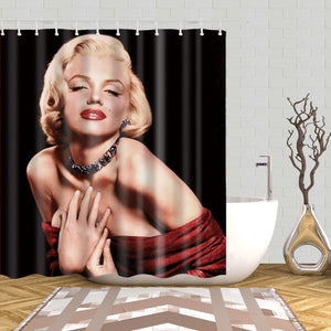 Classic Photo Marilyn Monroe Shower Curtain