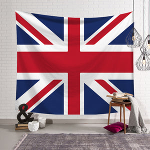 Clear Union Jack British Flag Tapestry