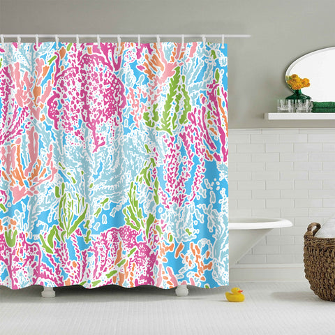 Colorful Engrossing Momentous Art Shower Curtain