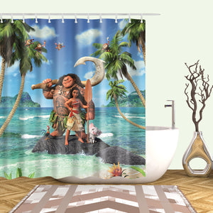 Disney Maui Moana Shower Curtain