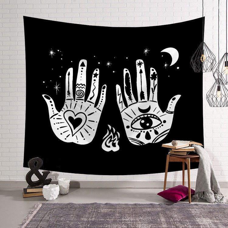 Ethnic Decoration Hand Constellation Tarot Divination Tapestry
