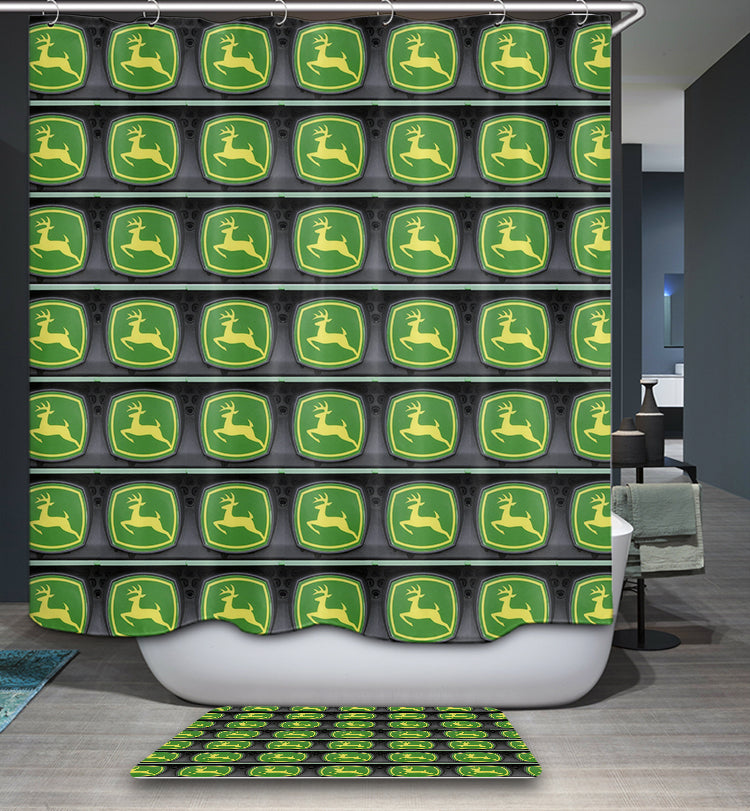 Farm Country John Deere Shower Curtain
