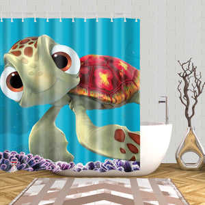 Finding Nemo Squirt Shower Curtain