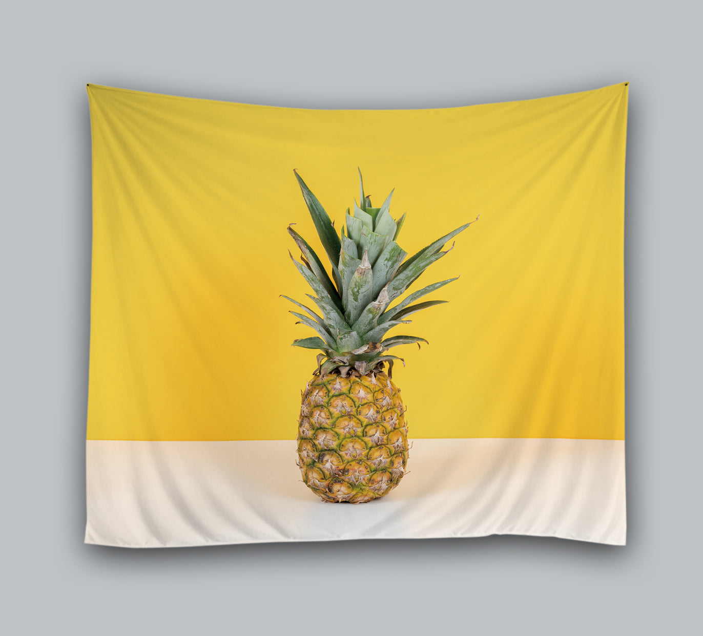 Fruit Art Drawing Pineapple Tapestry