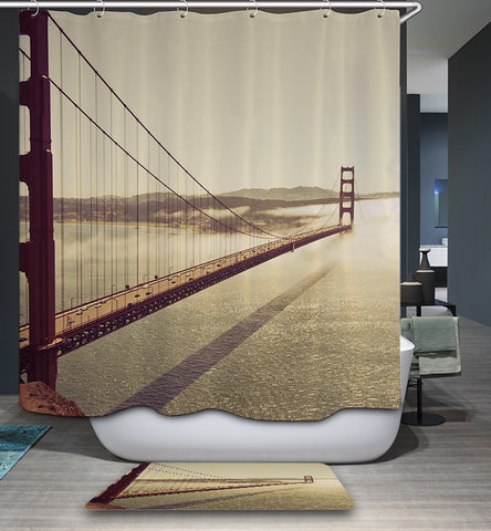 Great Brooklyn Bridge Doccia Curtain
