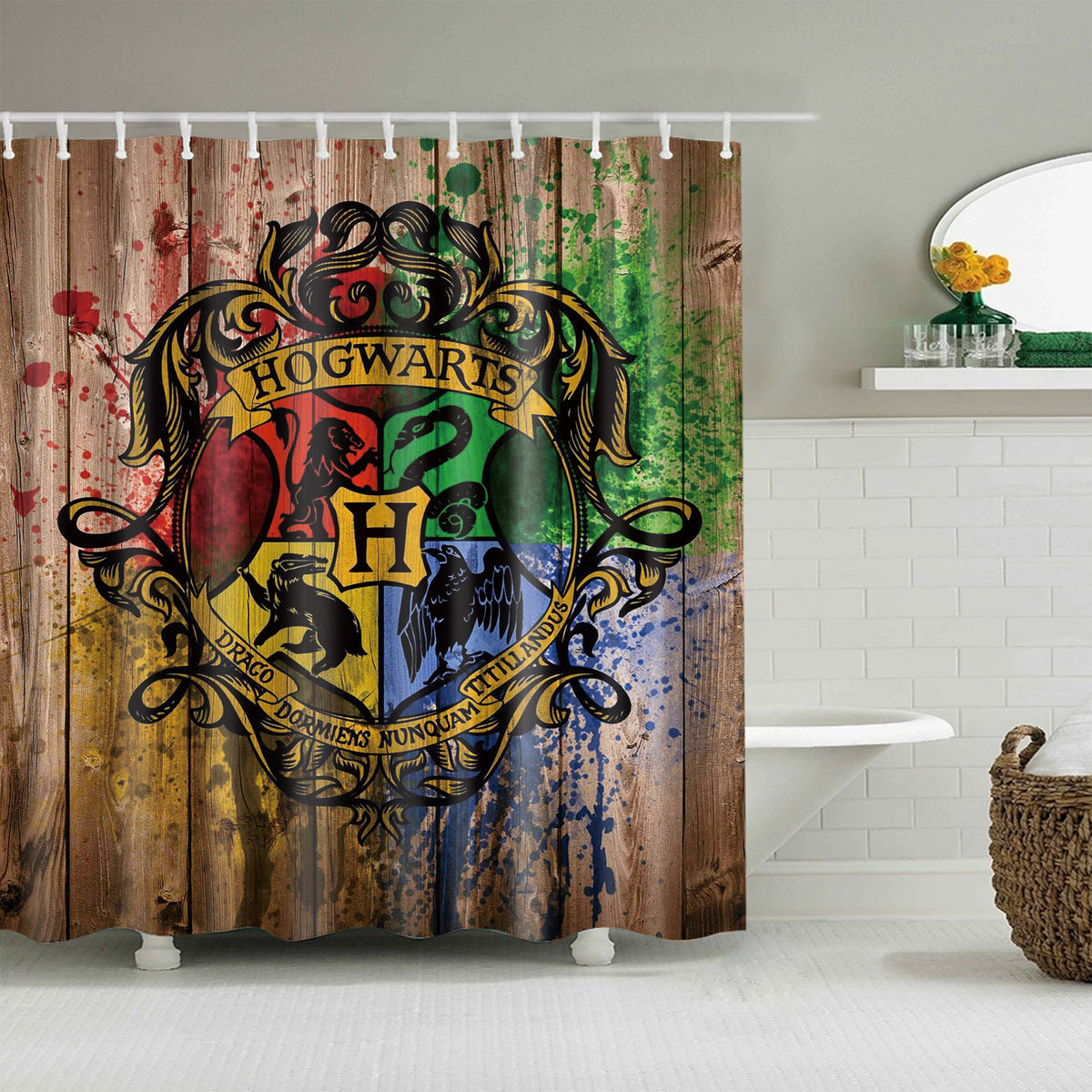 Harry Potter Hogwarts Acceptance Letter Carved Wooden ... |Harry Potter Hogwarts Wooden Table