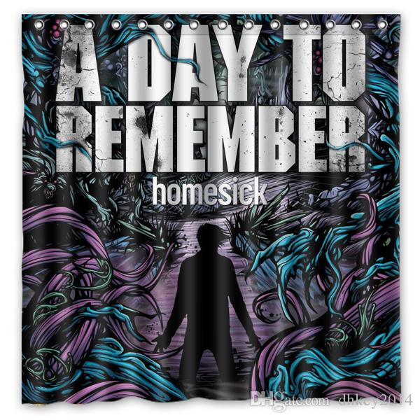 Homesick Album A Day to Remember ADTR Shower Curtain
