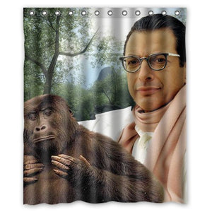 Jurassic Park Jeff Goldblum Shower Curtains | GoJeek