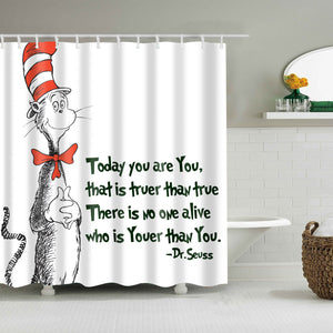 Love Quotes dr Seuss Shower Curtain