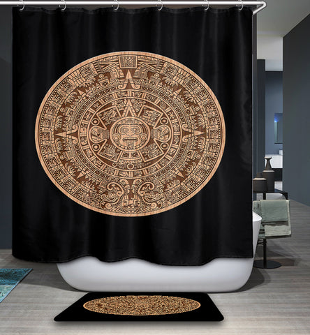 Mayan Calendar Shower Curtain