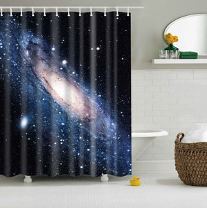Milky Way Galaxy Space Shower Curtain | GoJeek